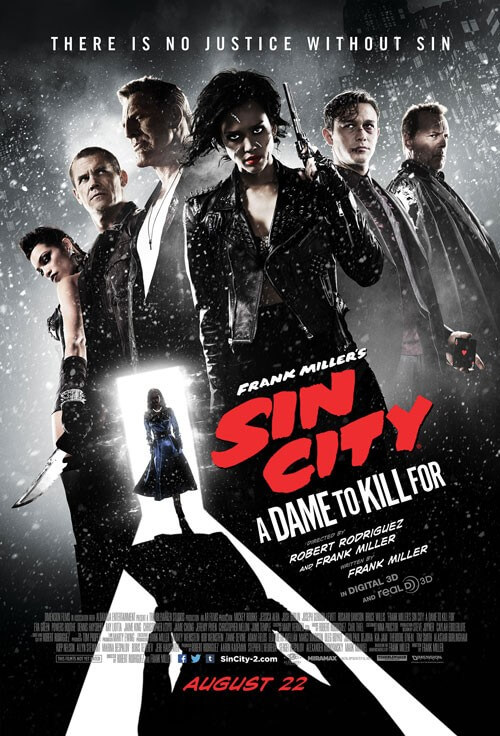 Sin City A Dame to Kill For Final Poster