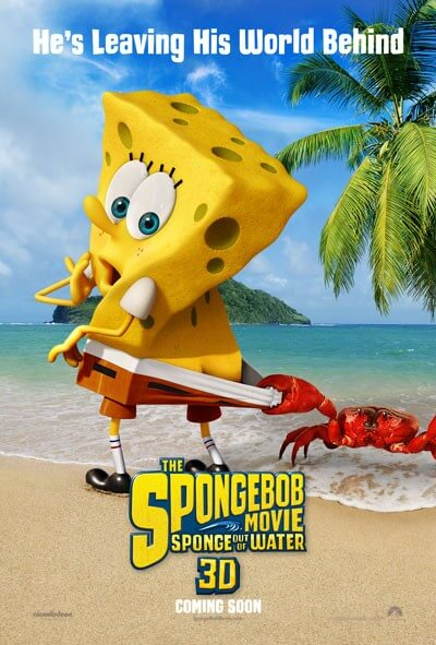 The SpongeBob Movie: Sponge Out of Water New Trailer