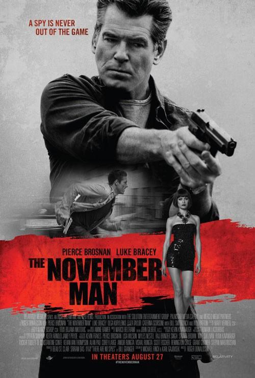 The November Man Official Trailer