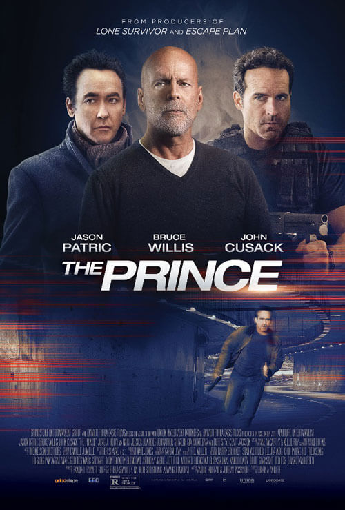 The Prince Movie Poster with Bruce Willis