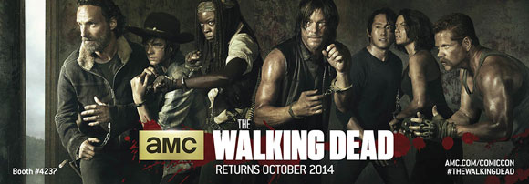 The Walking Dead is renewed for season 6