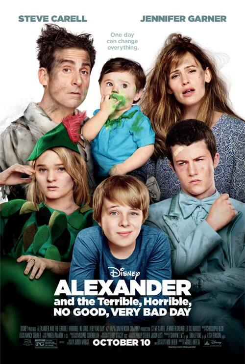 Alexander and the Terrible Horrible Not So Good Day Posters