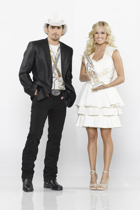"Brad Paisley and Carrie Underwood return to host ""The 48th Annual CMA Awards"" on ABC. (Photo Credit: Bob D'Amico / ABC)"