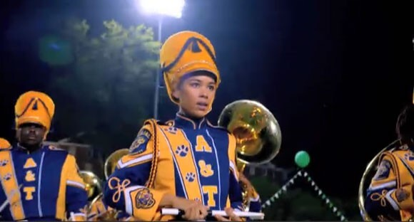 Clip from Drumline: A New Beat starring Alexandra Shipp