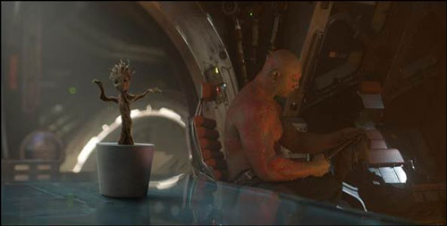Groot dancing video from Guardians of the Galaxy
