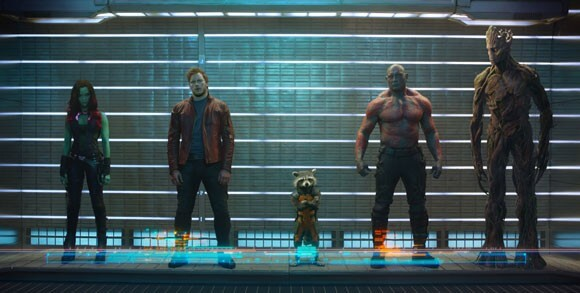 Guardians of the Galaxy Soundtrack Hits #1
