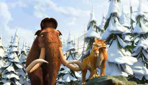 Ice Age Dawn of the Dinosaurs Movie Review