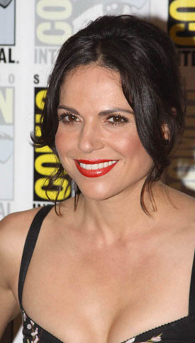 Lana Parrilla Once Upon a Time Interview