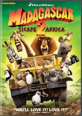 Madagascar: Escape 2 Africa DVD Review