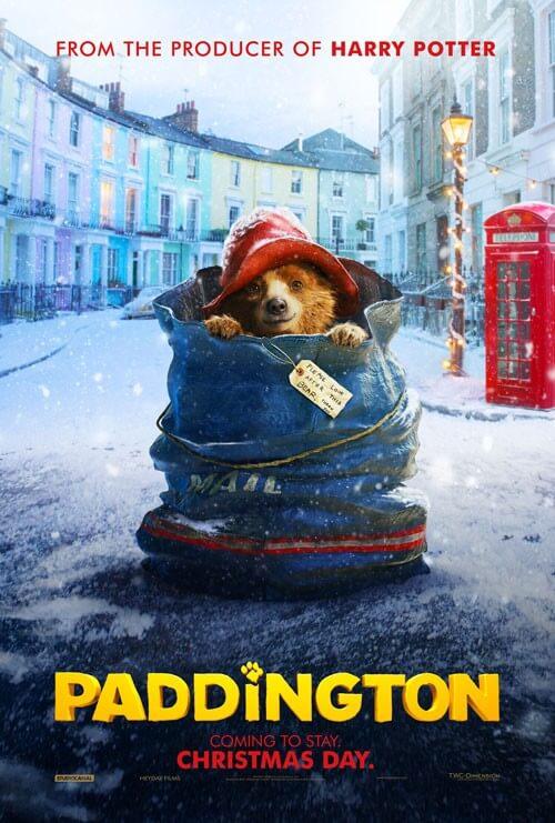 Paddington Movie Poster and Nicole Kidman Photo