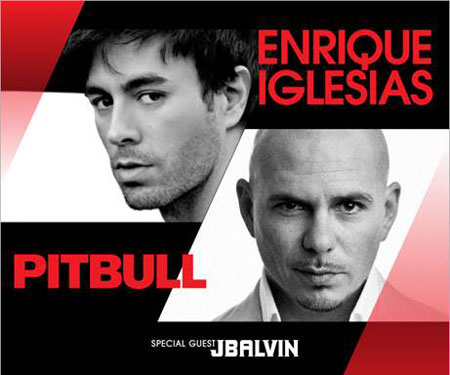 Pitbull and Enrique Iglesias tour dates