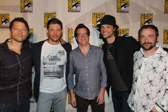 Misha Collins Supernatural Interview Season 10