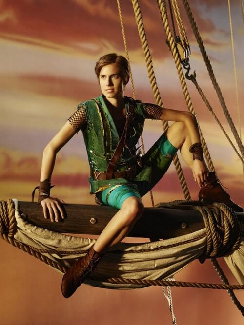 First Photo of Allison Williams as Peter Pan