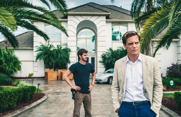 Andrew Garfield, Michael Shannon in 99 Homes