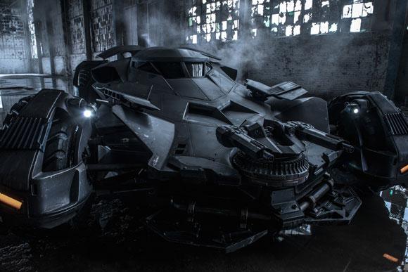Batman vs Superman Batmobile Photo