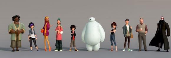 Don Hall and Chris Williams Big Hero 6 interview
