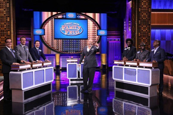 The Tonight Show plays Family Feud