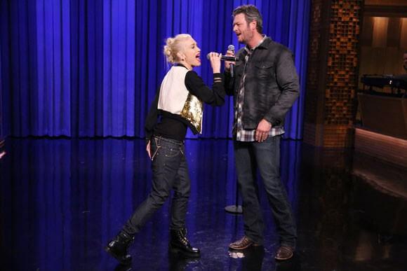 Blake Shelton, Gwen Stefani and Jimmy Fallon Lip Sync Battle