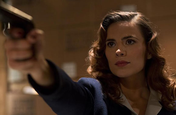 Hayley Atwell Agent Carter Interview