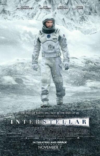 Interstellar Official Movie Poster