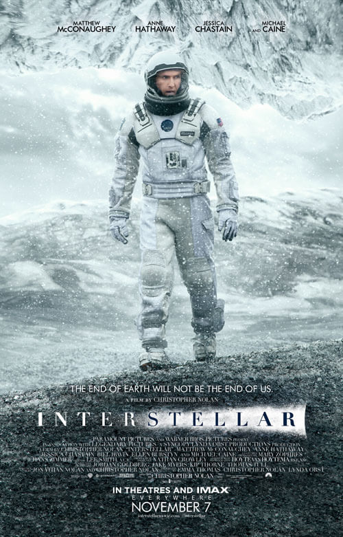 Interstellar Official Movie Poster