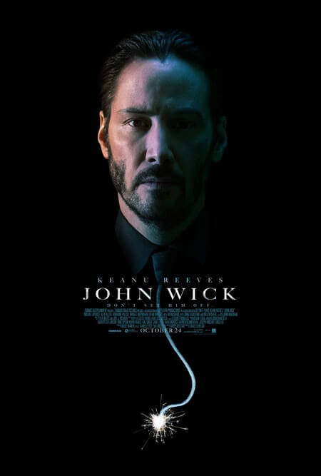 John Wick Trailer and Poster with Keanu Reeves