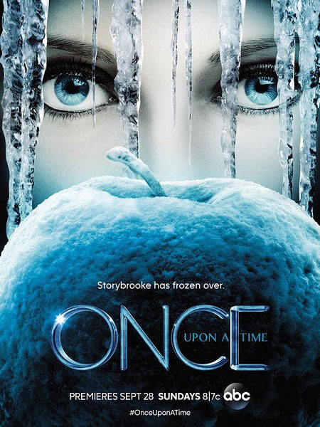 Once Upon a Time Season 4 Frozen Apple Poster
