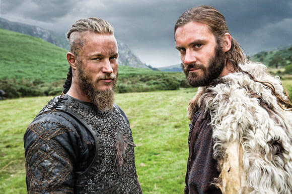 Travis Fimmel and Clive Standen Vikings Season 3 Interview
