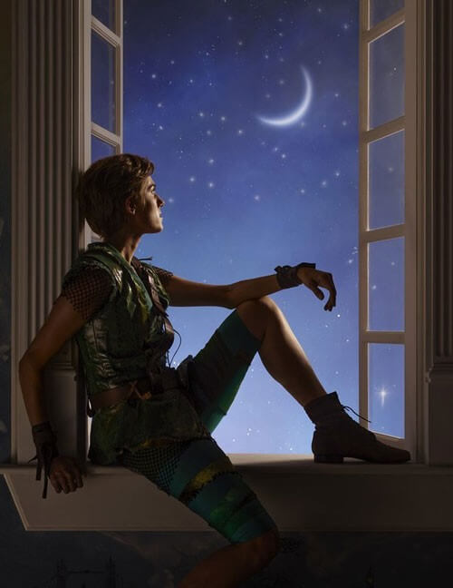 New Photo of Allison Williams as Peter Pan
