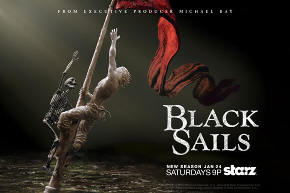 Black Sails Season 2 Premiere Date and Poster
