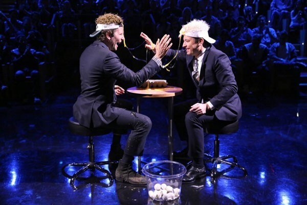 Jimmy Fallon And Bradley Cooper Play Egg Russian Roulette