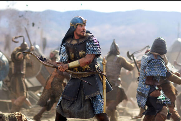 Christian Bale Q&A on Exodus Gods and Kings