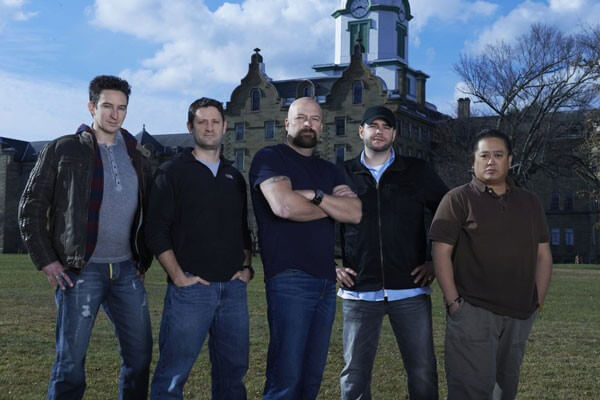 Ghost Hunters Cast Photo