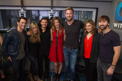 James Marsden Sings Friends in Low Places with Lady Antebellum