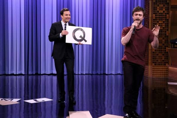 Daniel Radcliffe Raps on The Tonight Show