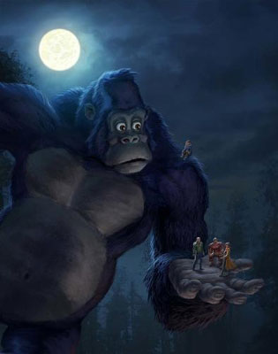 Netflix Gets Kong - King of the Apes