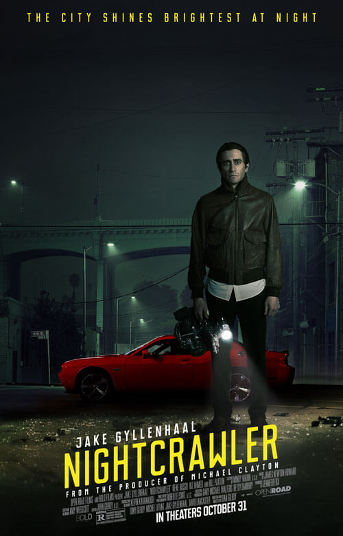 Nightcrawler TV Spot and New Poster