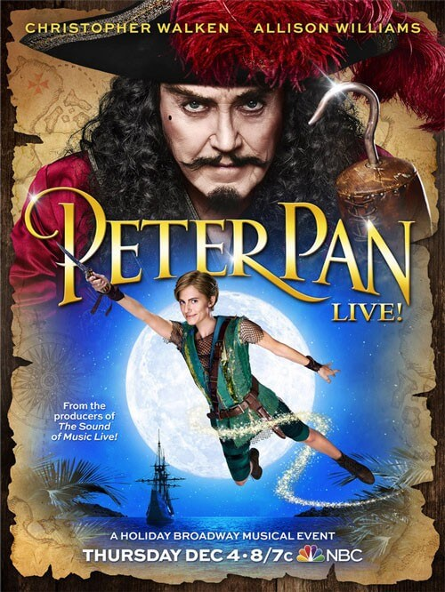 Peter Pan Live Poster Revealed