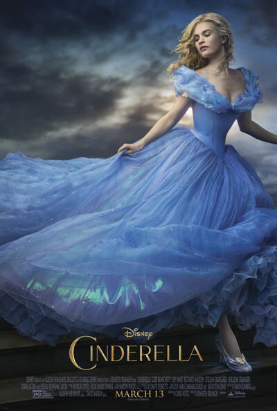 Cinderella Official Movie Trailer and Poster