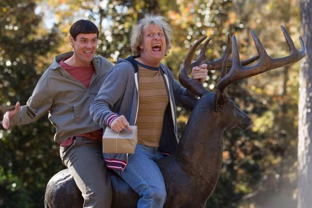 Dumb and Dumber To with Jim Carrey and Jeff Daniels