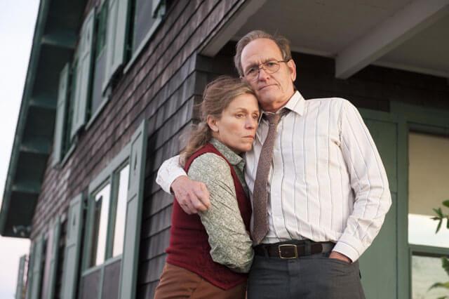 Frances McDormand and Richard Jenkins Olive Kitteridge Interview
