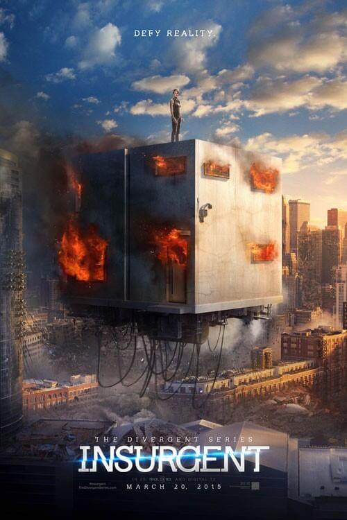 Divergent Insurgent Teaser Poster and Teaser Trailer