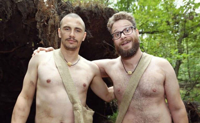 James Franco and Seth Rogen Naked and Afraid Clip