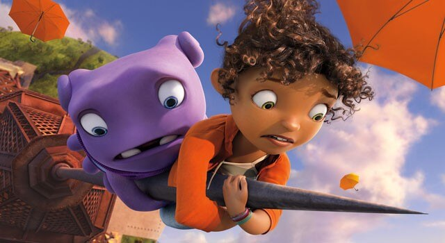 Home Movie Review - Starring Rihanna and Jim Parson
