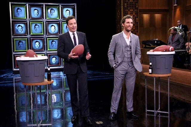 Jimmy Fallon and Matthew McConaughey on The Tonight Show