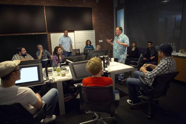 John Lasseter Directing Toy Story 4