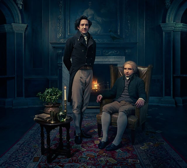 First Photo from Jonathan Strange and Mr Norrell