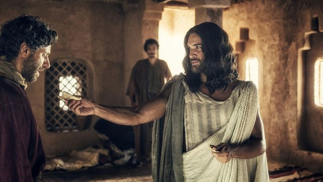 Juan Pablo di Pace as Jesus in A.D.