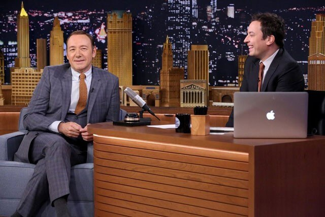 Kevin Spacey and Jimmy Fallon do impressions on The Tonight Show