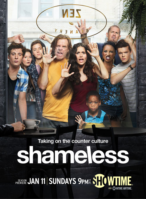 Shameless Season 5 Poster and Behind-the-Scenes Video